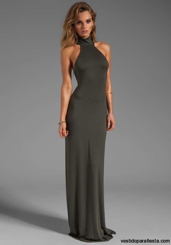 2c896e7aa4 Elegantes y modernos vestidos largos de fiesta con escote en la espalda – 09