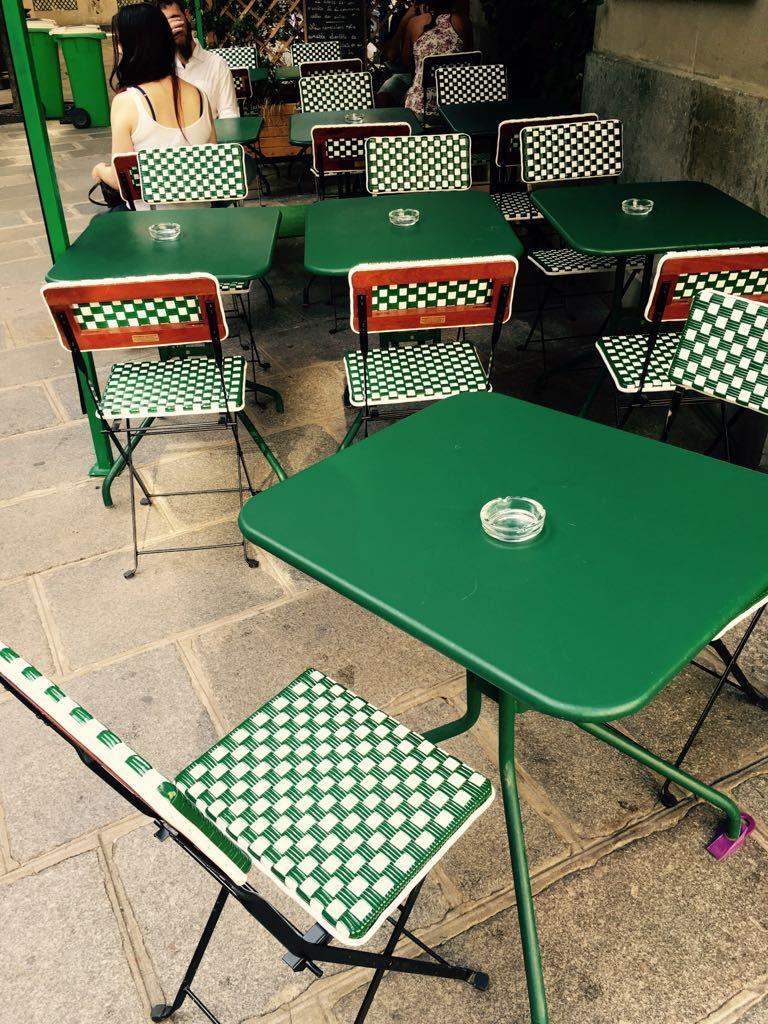 Maison Gatti metal bistro chairs   home & design   Pinterest ...