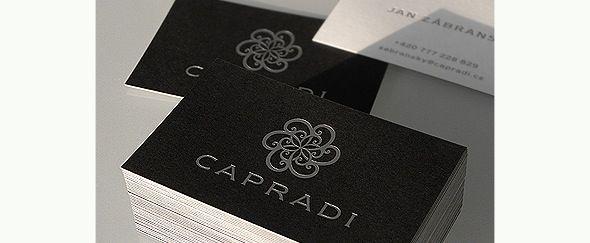Classy logo design ideas google search hatfield wedge go to capradi business card colourmoves