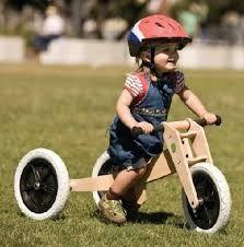 Resultado de imagen para triciclo de madera para niños