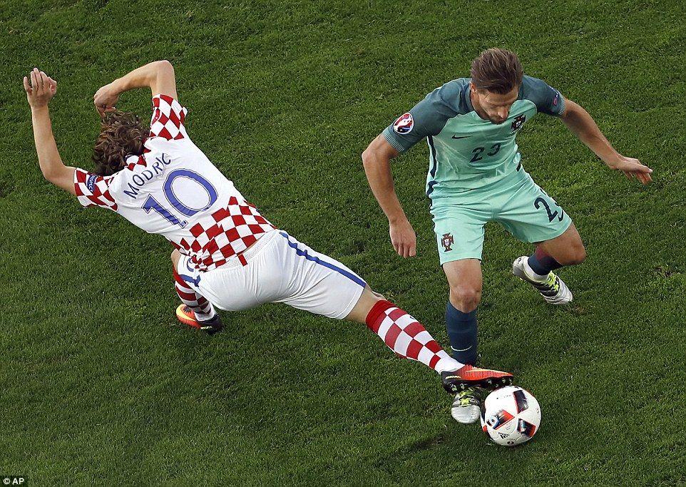 Croatia 01 Portugal (AET) Ricardo Quaresma scores