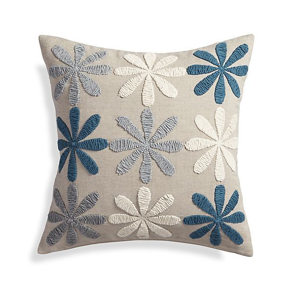 Hope 20 Pillow With Feather Down Insert Decorative Throw Pillows Cushion Embroidery Sewing Cushions