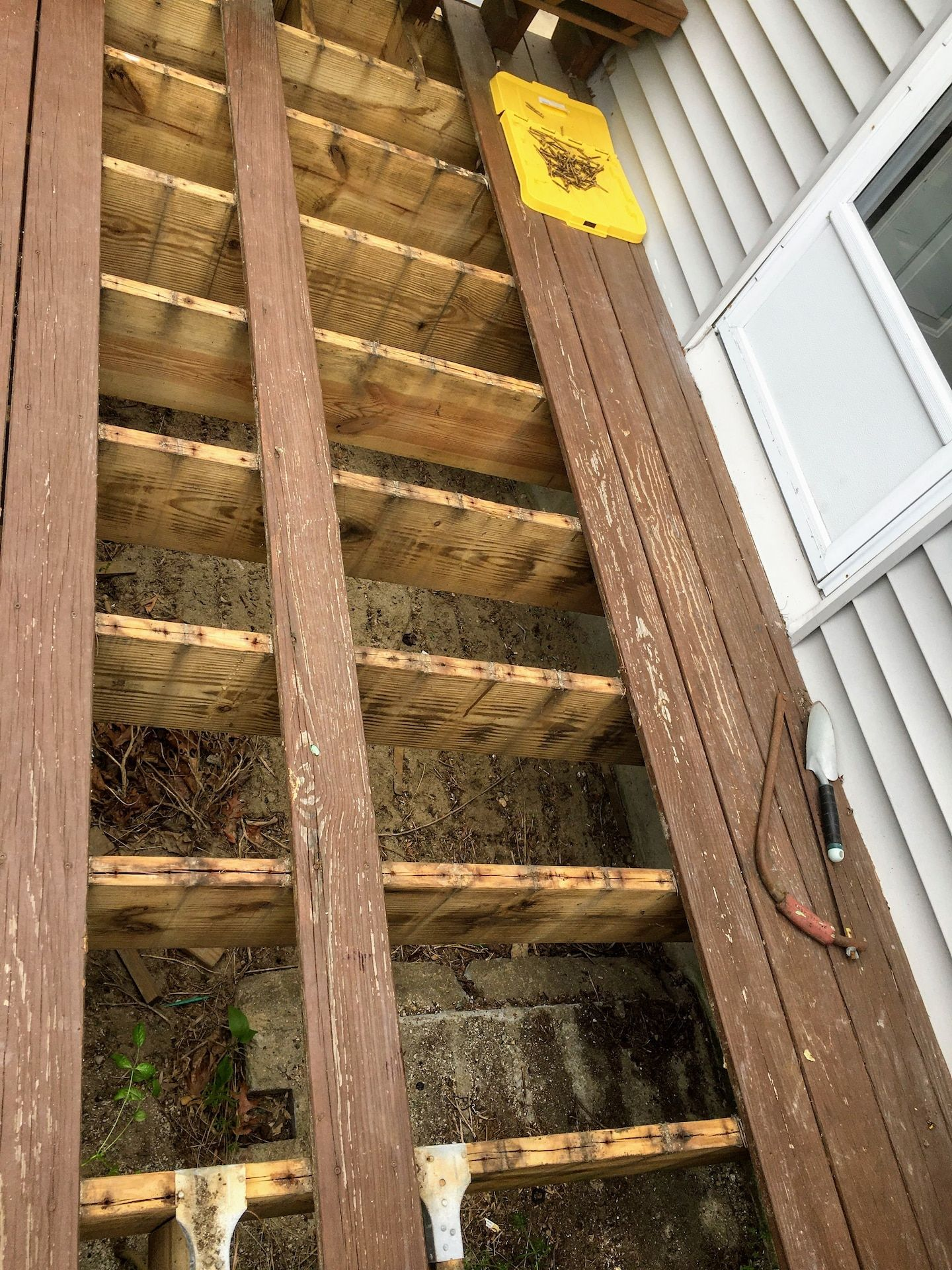 How To Salvage And Restore A Decaying Deck In 2020 Restoration Deck Building A Deck