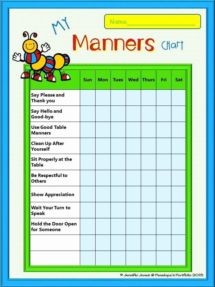 Behavior charts for home inspirational 236 best kids