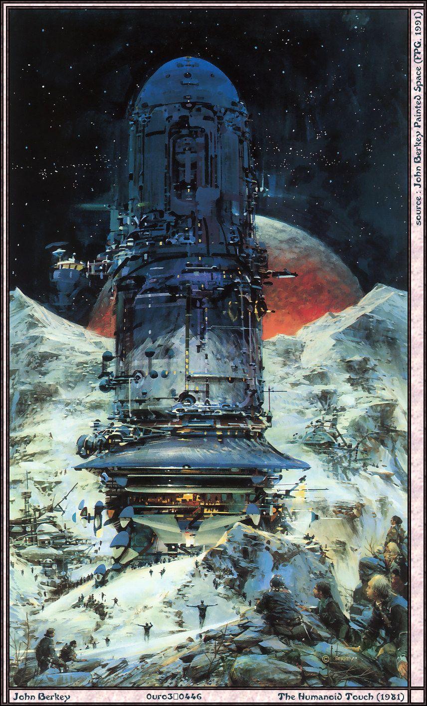 Book Cover Artist Science Fiction : John berkey science fiction book cover artist on pinterest