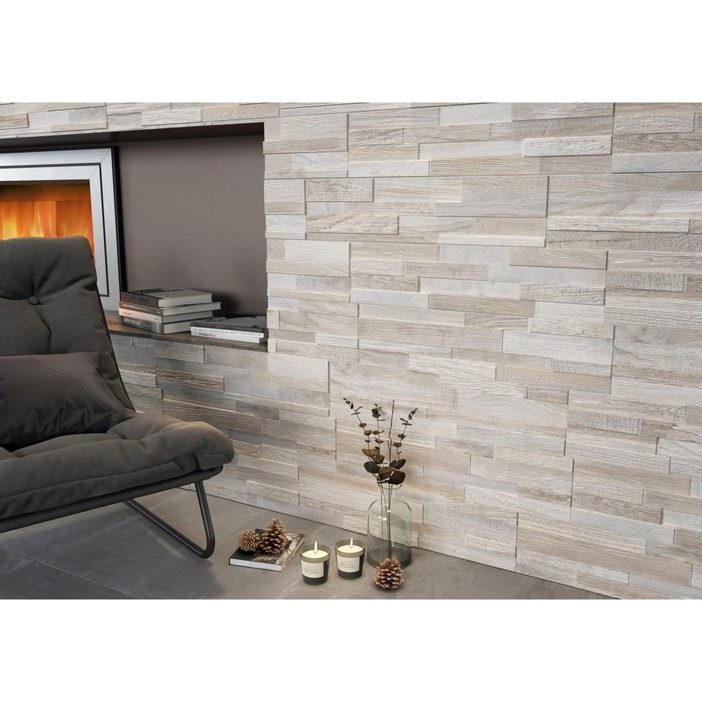 Floor Decor Backsplash: Olsen Ice Porcelain Panel Ledger
