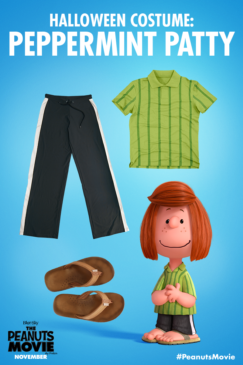Be A Peppermint Patty This Halloween Who S In Charlie Brown Halloween Costumes Peanuts Halloween Costume Charlie Brown Halloween