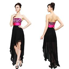 Ever Pretty Sequins Strapless Women's Formal Party Short Cocktail Dresses 06123
