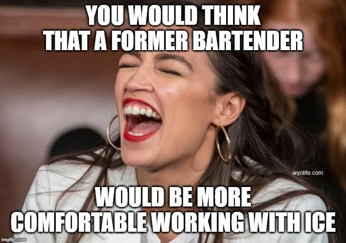 You would think a former #bartender would be more ...