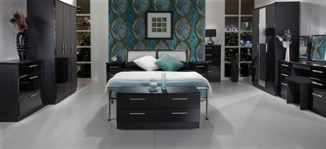 black bedroom furniture: black gloss bedroom furniture awesome decoration on bedroom design ideas