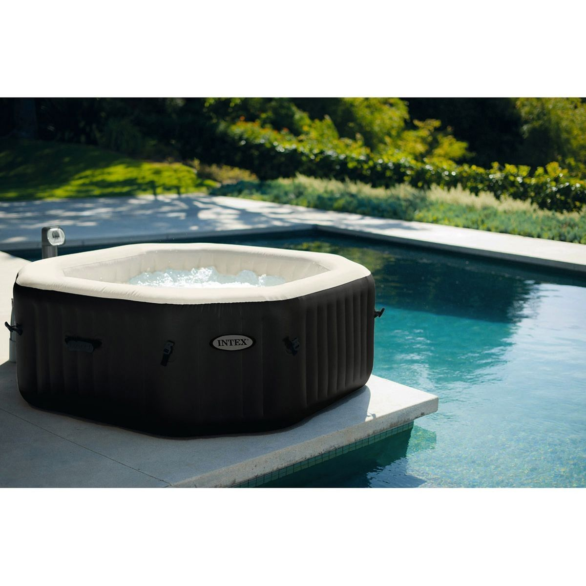 Spa Gonflable Octogonal 4 Places Taille Taille Unique Spa Gonflable Intex Spa Gonflable Spa Gonflable 6 Places