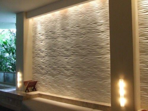 Wall Design Gypsum : Interior stone accent wall walls gypsum
