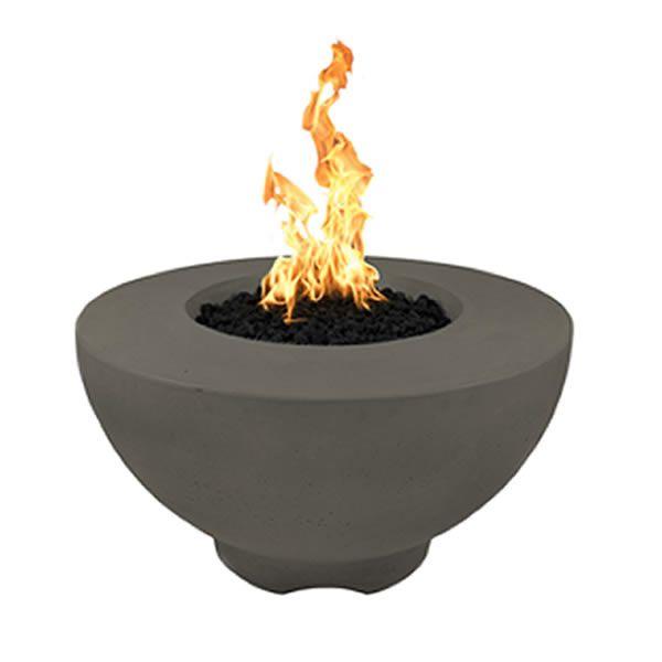 Sienna Concrete Gas Fire Pit Propane Fire Pit