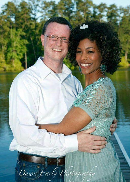 Korrie and husband. Married 13 years. Swirl, interracial