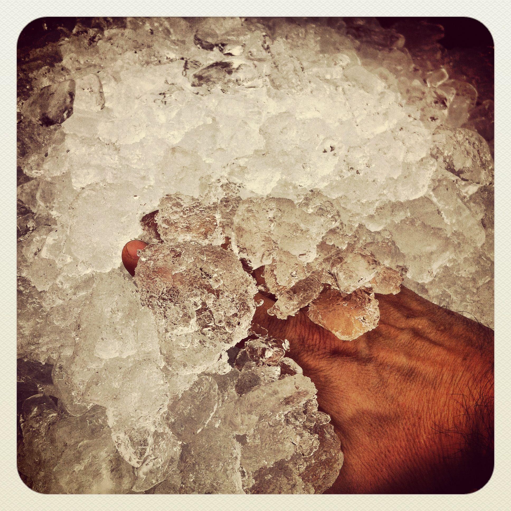 mãos geladas