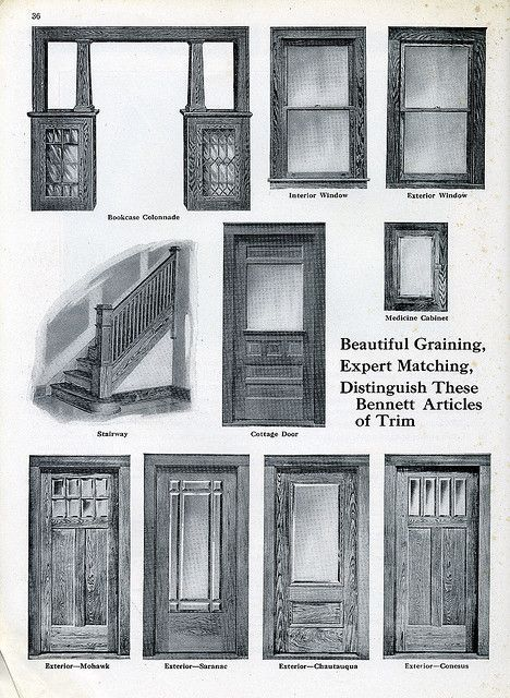 1920s Guide To Craftsman Style Entry Doors