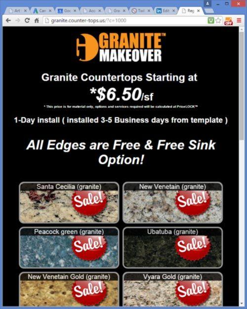 Increase Granite Lead Conversions With Images Granite Granite