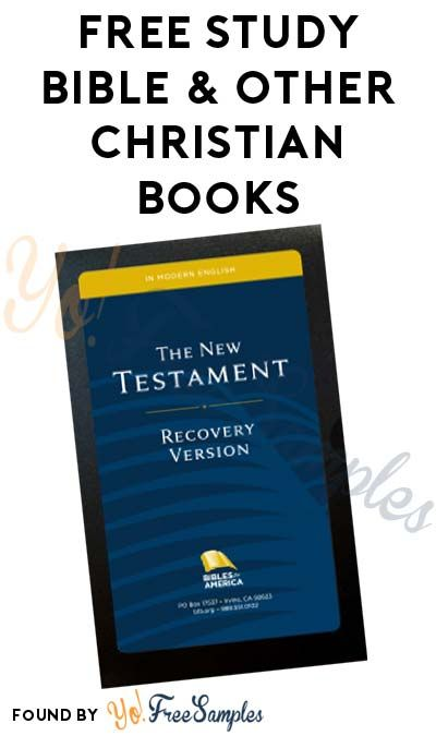 FREE Study Bible & Other Christian Books [Verified Received By Mail