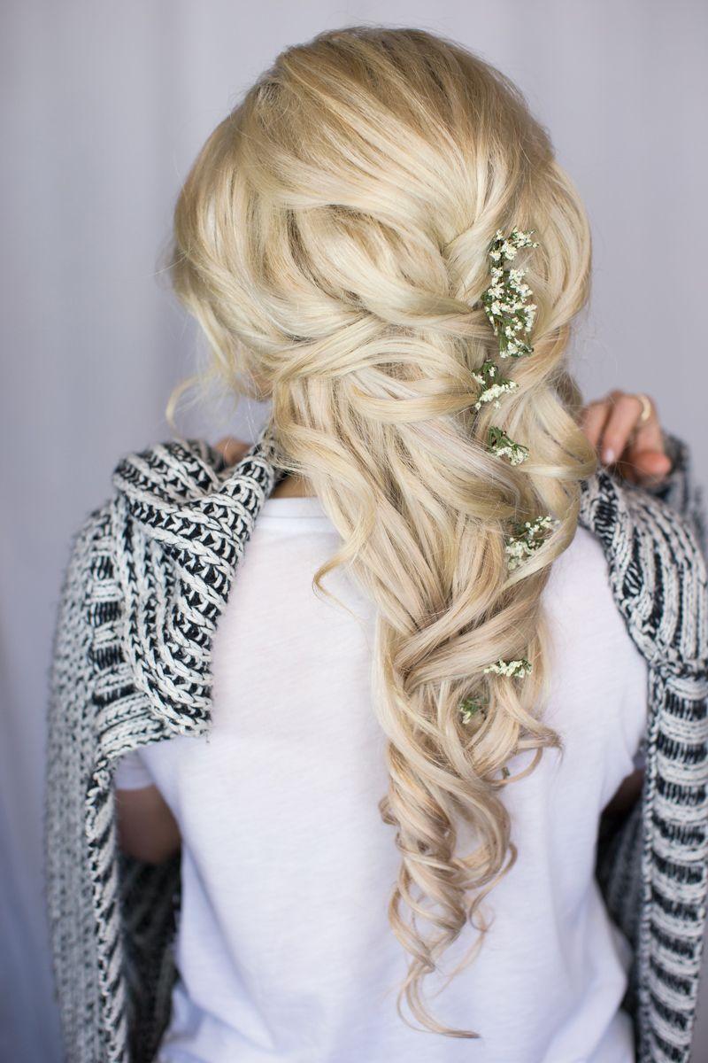 bridal bride hair witney carson wedding | future wedding