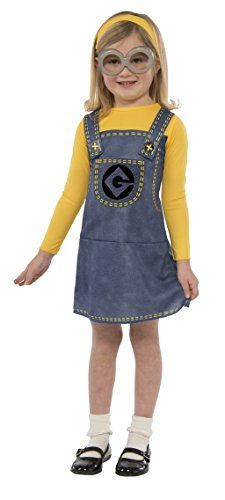 Help Gru steal the moon in our Despicable Me Child Minion Dress Costume Accessory Kit! Minion costume essentials include a yellow fabric hat and silver ...  sc 1 st  Pinterest & Minion Costume Dress Set u003eu003eu003e Details can be found by clicking on the ...