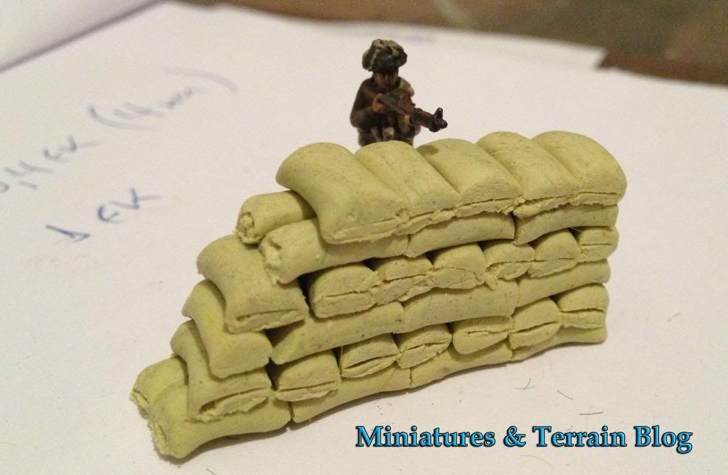 Miniatures Terrain How To Make Sandbags Warhammer
