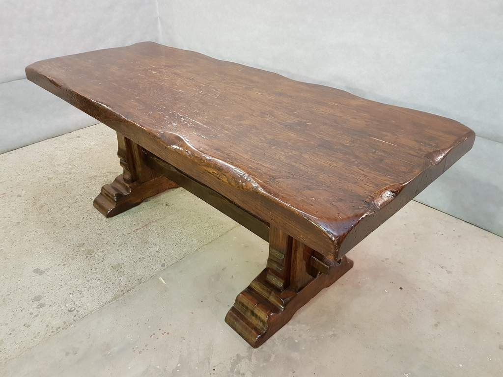 Rare Massive Very Heavy Solid Antique Early 1900s French Trestle