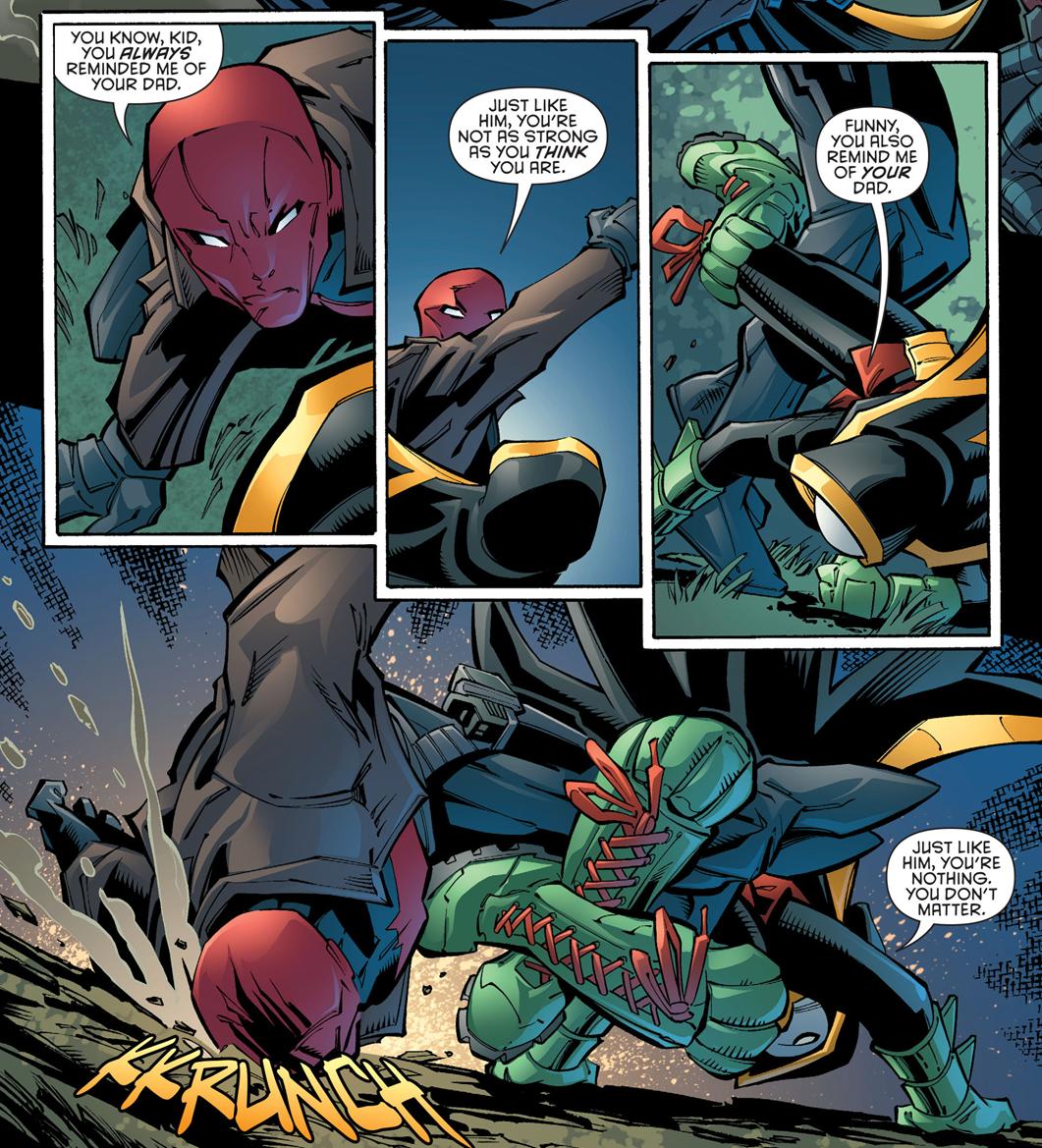 "I Love Dc Comics : Why i love comics ""robin war ""the daring young man"