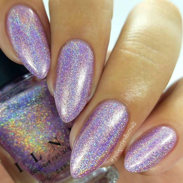 Dream Girl - Light Orchid Ultra Holographic Nail Polish by ILNP