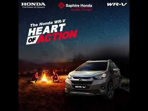 With the Honda WR-V, Action means a lot of FUN! #HeartOfAction HondaWRV.  Visit: www.saphirehonda.in or Call: 8088651651 #HondaWRV #HondaOffer #HondaCars