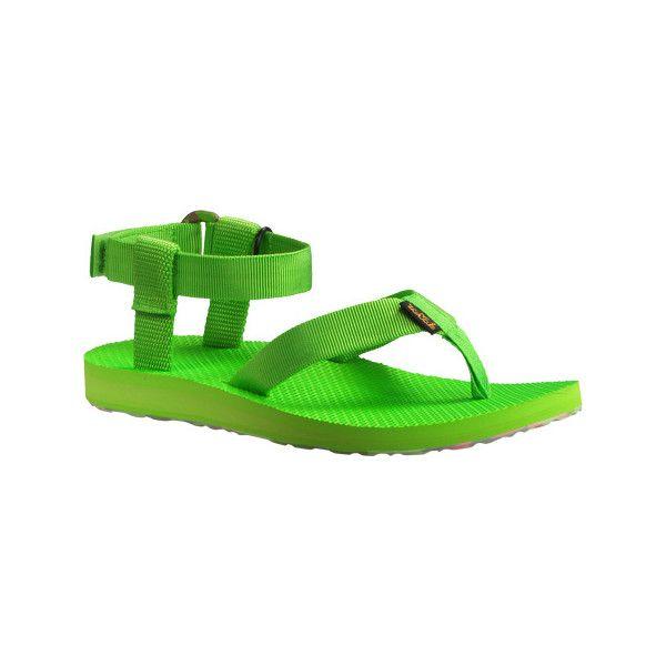 Women's Teva Original Sandal Marbled - Jasmine Green Casual ($45) ❤ liked  on Polyvore