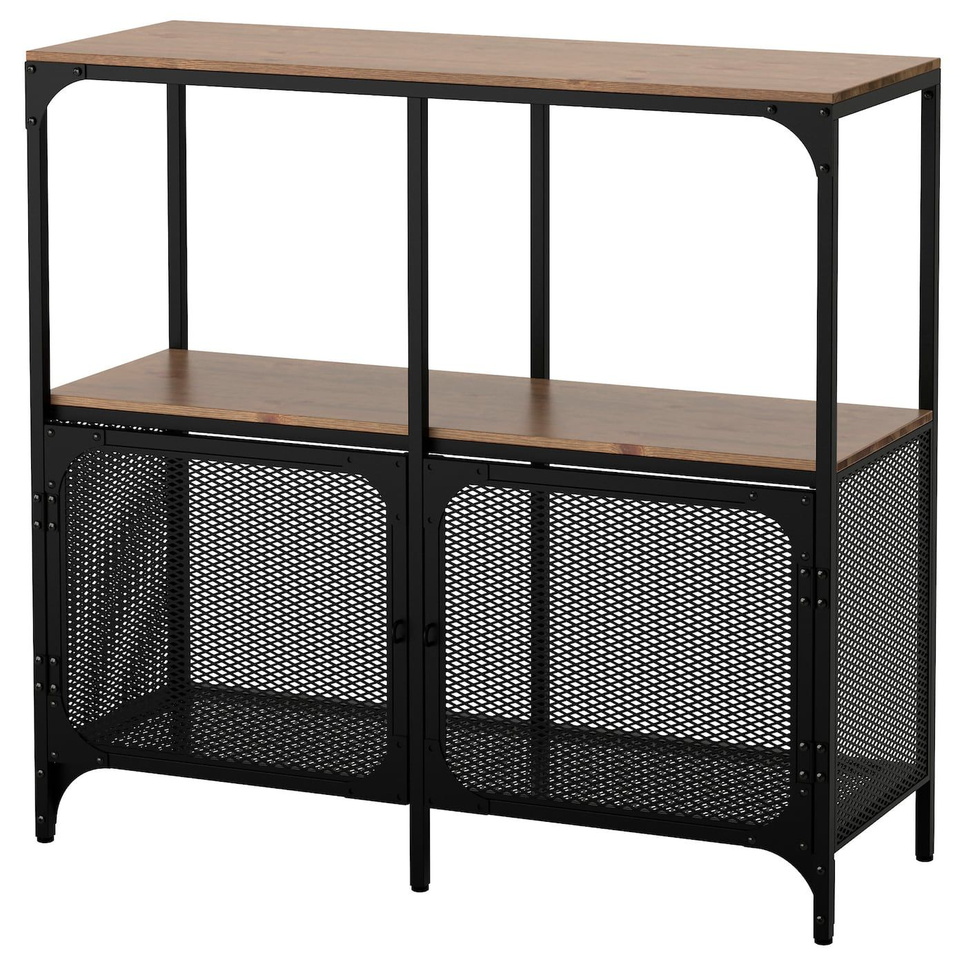 Ikea Metall Küchenregal FjÄllbo Shelf Unit Black In 2019 Notre Petite Maison Ikea