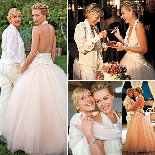 Portia De Rossi Wedding Gown: Pin By Sabrina Silbar On Love Proudly♡