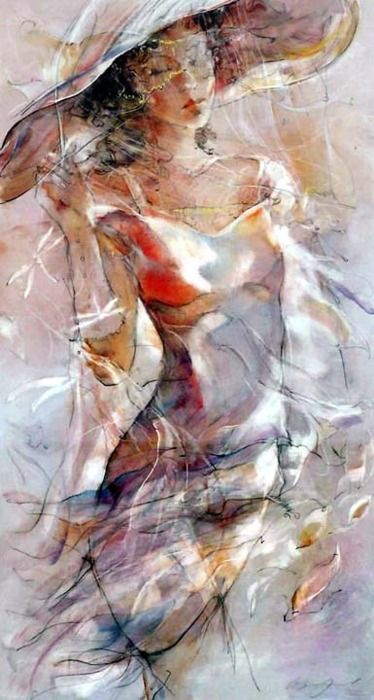♥ love the light  - can't read artist's signature; website has no attribution...