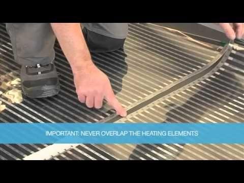 Underfloor Heating Kit Laminate Floor Installation How To Flooring