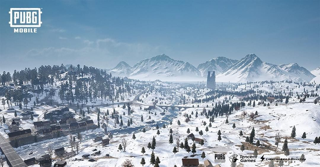 Vikendi Is Now Available For Download In Game Prepare Yourselves With Images Gaming Wallpapers Snow Map Instagram
