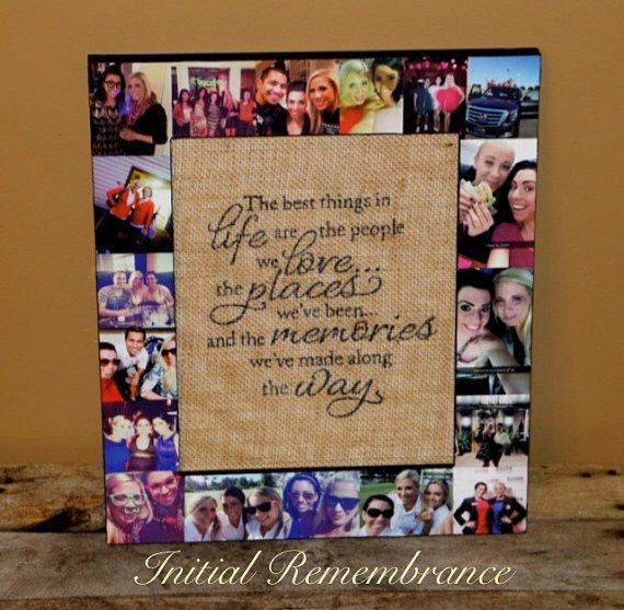 Personalized Gift Sister Bridesmaid Picture by InitialRemembrance