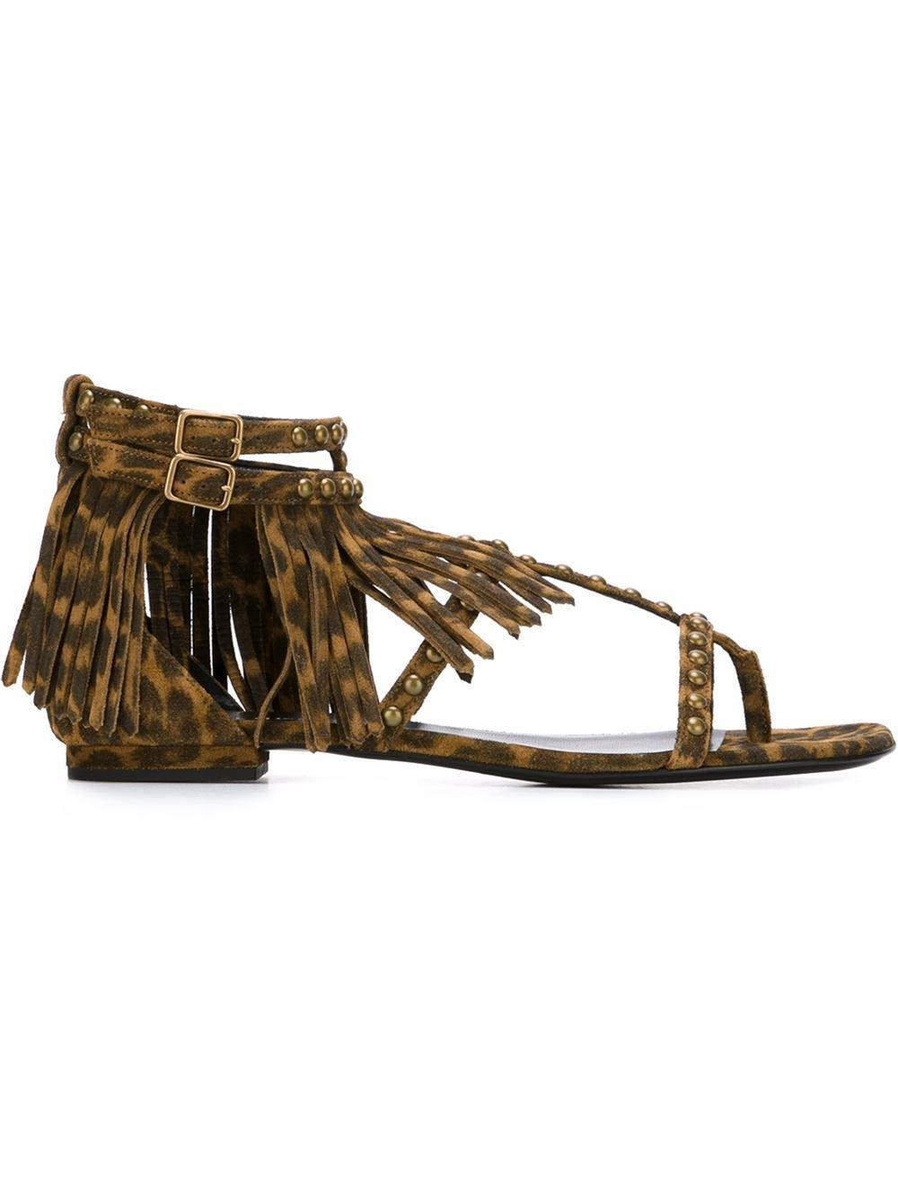 Saint Laurent 'Nu Pieds' flat sandals