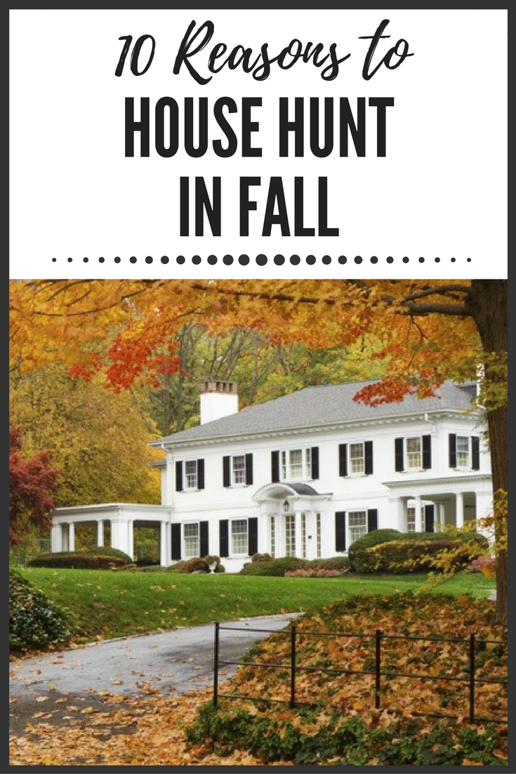 10 Surprising Reasons To Start House Hunting In Fall Autumn Home White House Black Shutters House