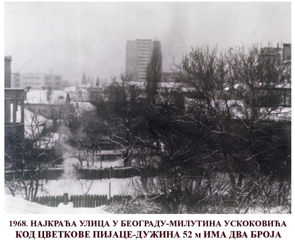 Belgrade in 1968 ~ Serbia