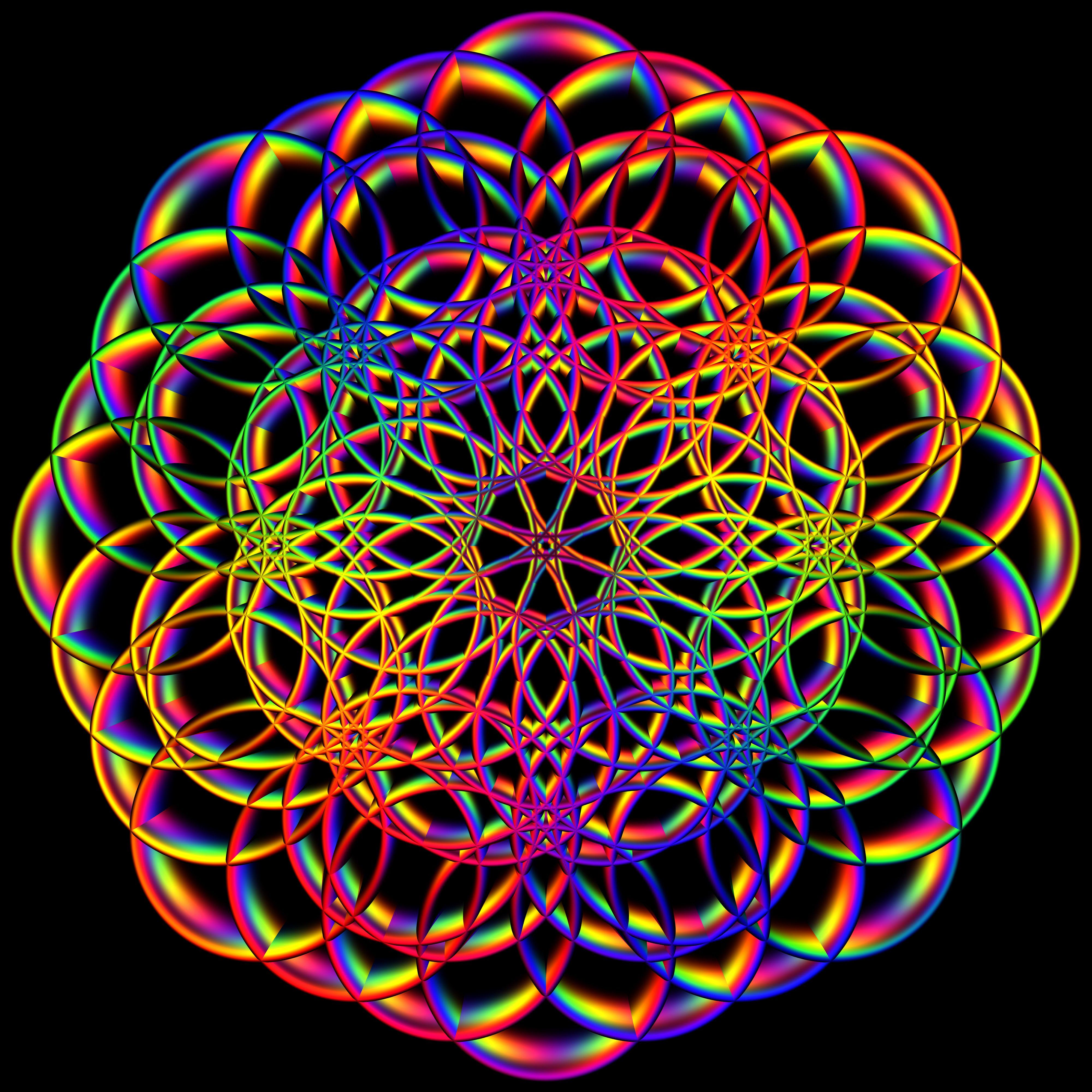 Sacred Geometry Representation Of Patterns