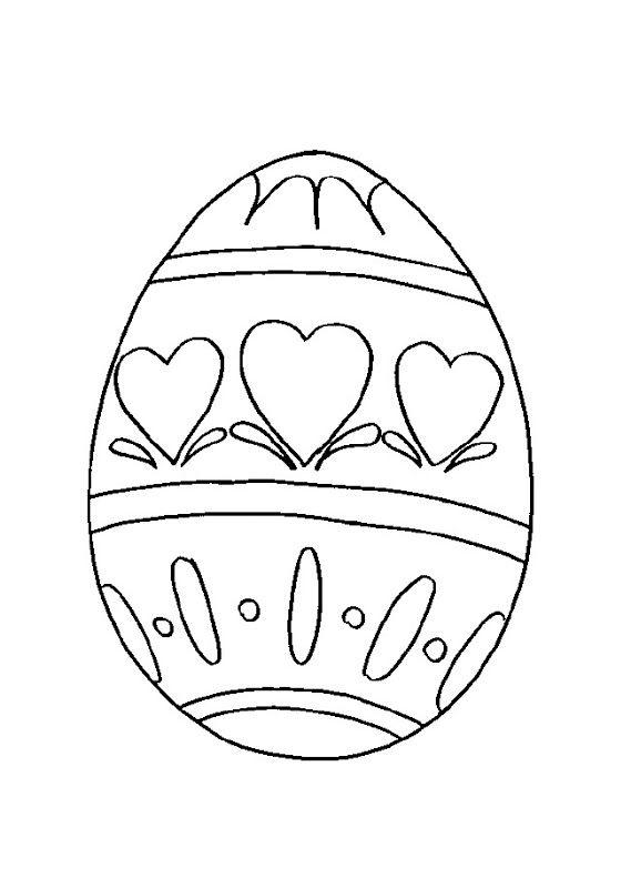 Dibujos para colorear de conejos y huevos de pascua para niños ...