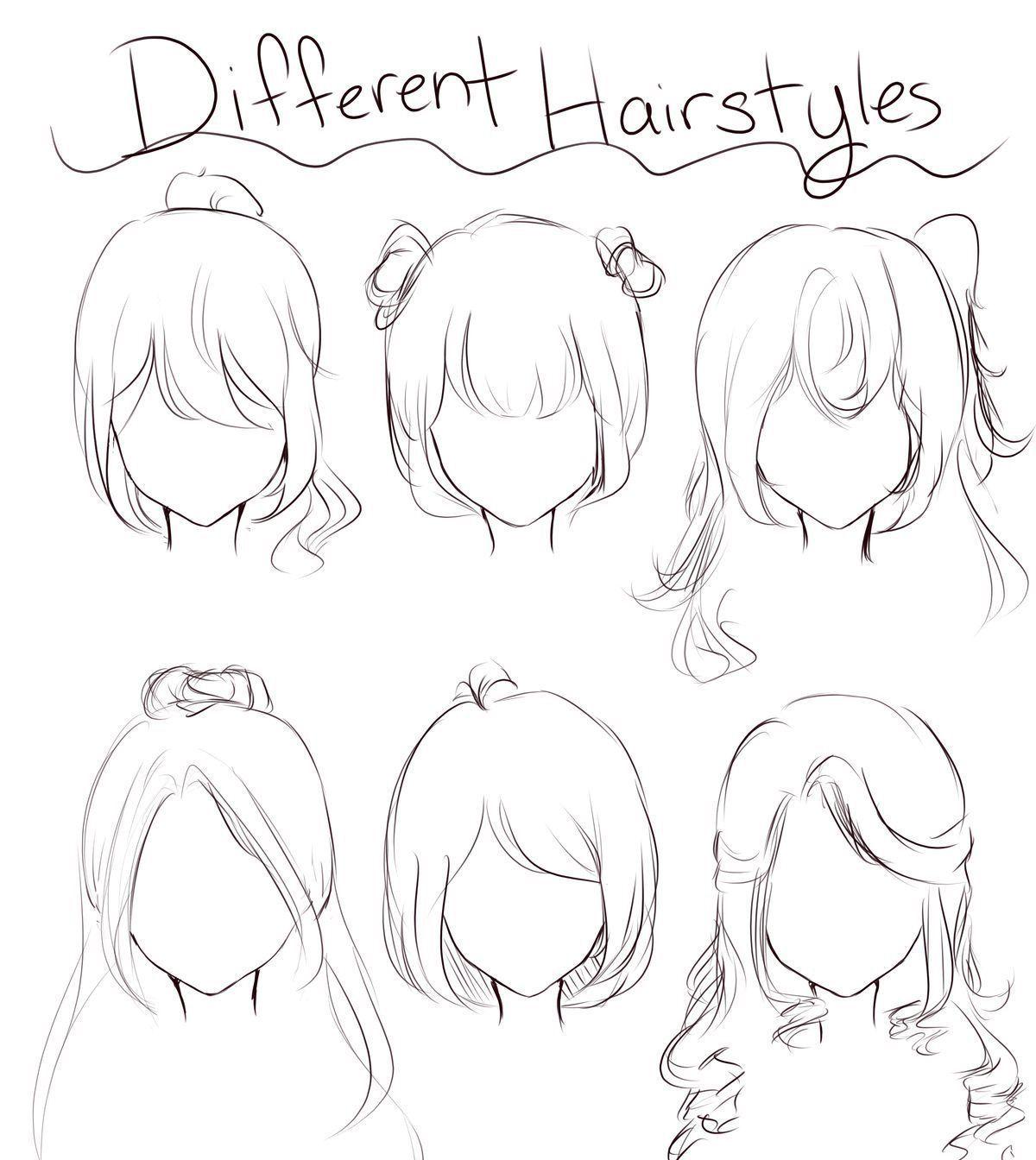 Pin By Heather Breman On Drawing Hair Hairstyles How To Draw Hair Girls Cartoon Art Cartoon Art Styles