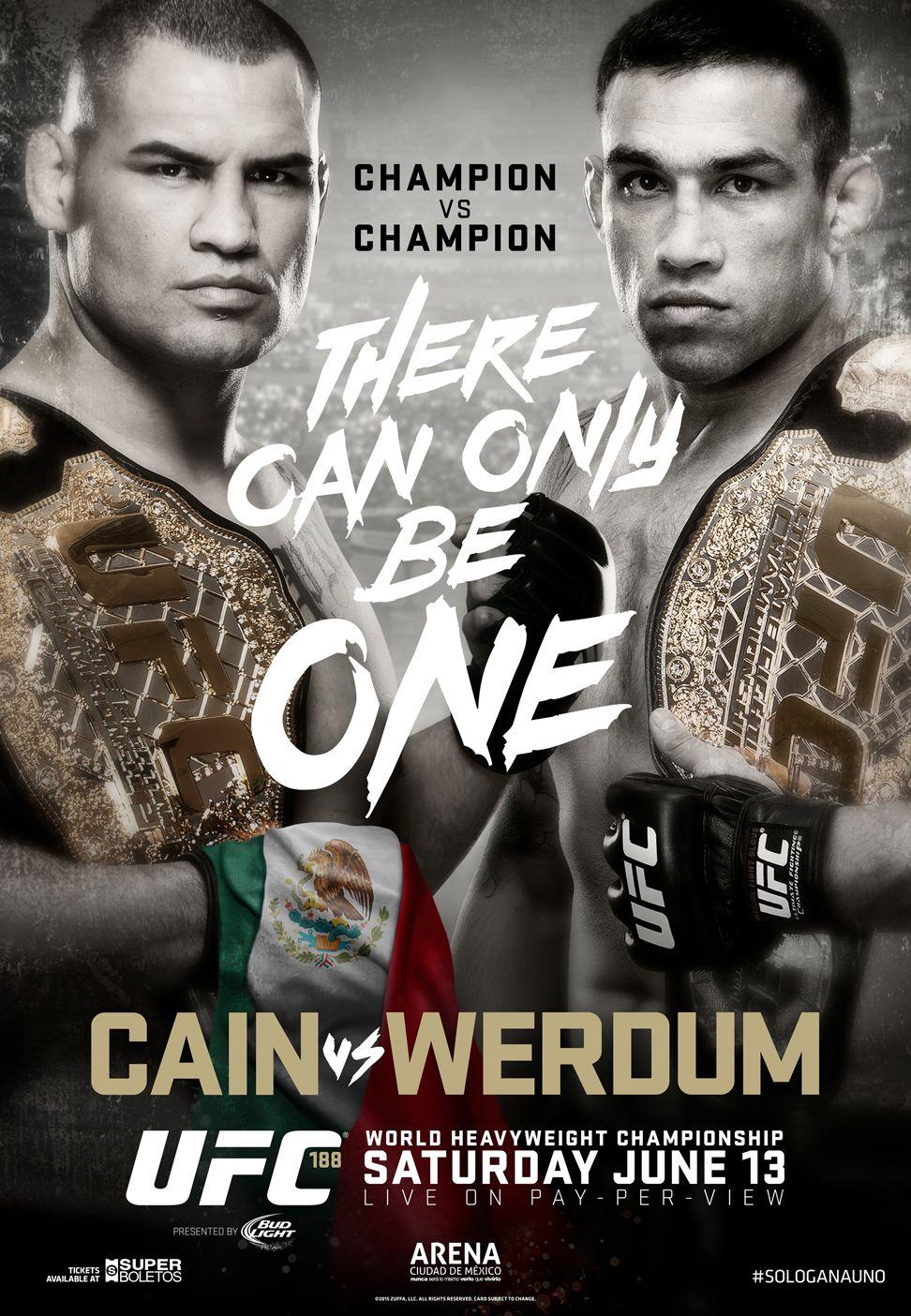 UFC 188 Velasquez vs. Werdum Cain velasquez, Ufc, Ufc
