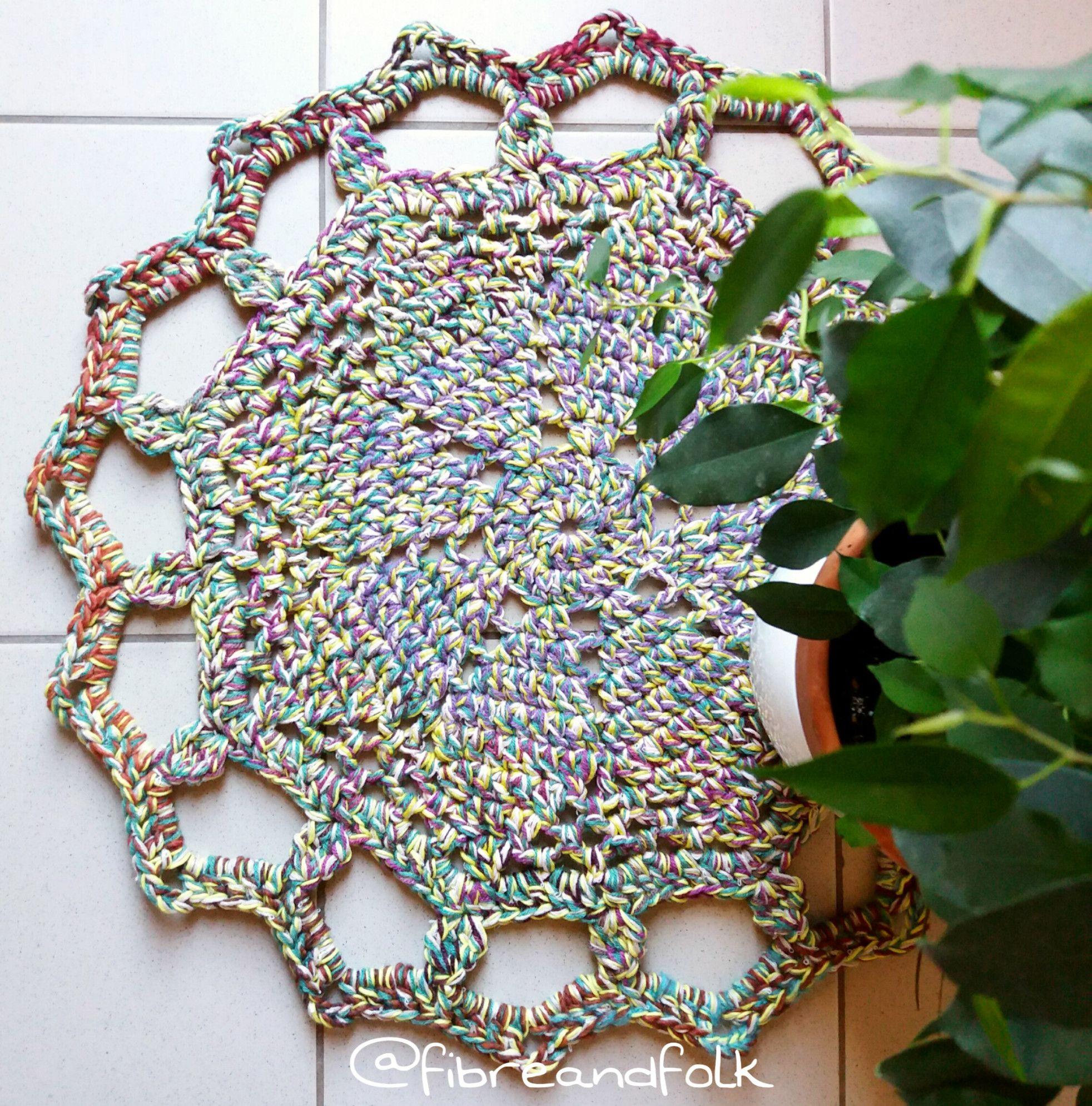 [TUTO] Recyc'laine: Tapis au crochet   Recycl'yarn: Tapis au crochet   – Crochet pour la maison