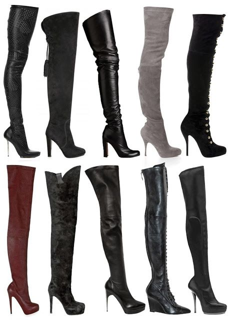 706867098d2 Thigh high boots. Otherwise know as CFM boots. Come F    Me boots ...