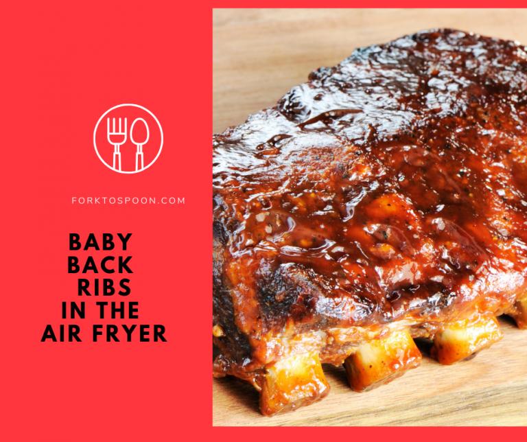Air FriedAir FryerHow To Cook Babyback Ribs in the Air