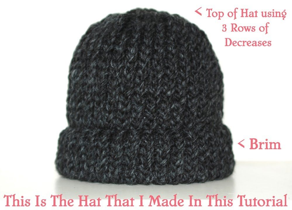How To Loom Knit A Chunky Beanie Hat Pt 1 Loom Knit Hat Loom Knitting Patterns Loom Knitting