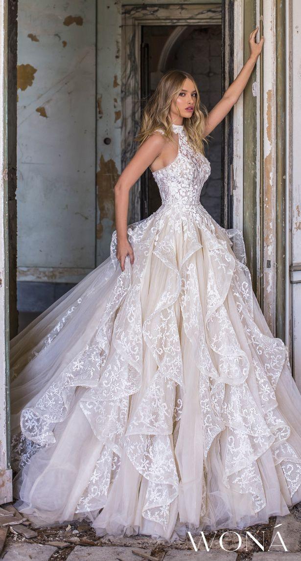 WONÁ Wedding Dresses and Evening Gowns 2020  Belle The Magazine #weddingdresses – Dress