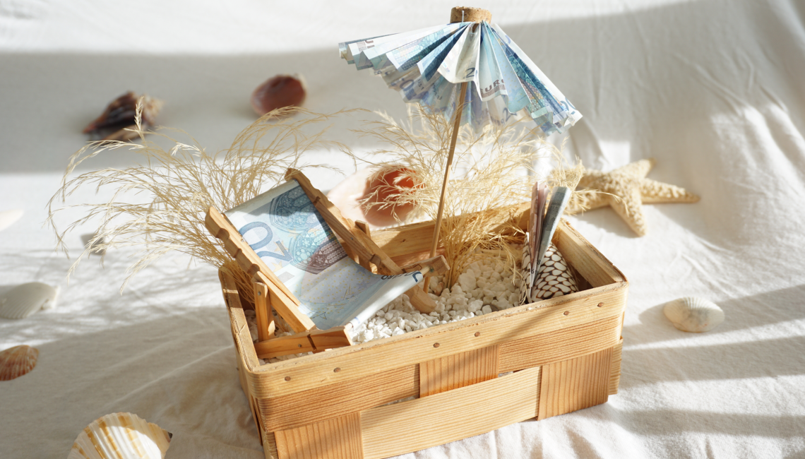 hochzeitsgeschenk reisegutschein basteln sommer sonne geldgeschenk geschenk hochzeit. Black Bedroom Furniture Sets. Home Design Ideas