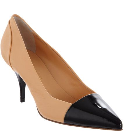 Proenza Schouler Cap Toe Pump : a staple must have!! Makes any outfit looks sophisticated